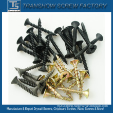3.5*25mm C1022 Hardend Steel Black Phosphated Drywall Screws