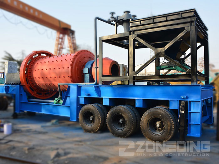 Mobile Ball Mill