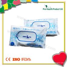 Nasse Wischtücher in einer Plastiktüte (PH734A)