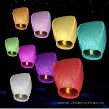 рекламные и традиционные тайские небесные фонарики с огнезамедлительная и придают огнестойкость бумаги