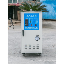 Oil heating mold temperature controller for injection molding machine