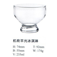 Machine Blow Glass with Good Price Ice Cream Bowl Kb-Hn01030