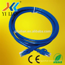 promotional factory price rj45 computer network cable patch cord cat5e cat6 utp sftp high performance patch cord supplier
