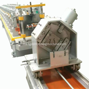 Rak Penyimpanan Saluran Omega Mental Rak Upright Machine Shelf