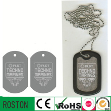 Aluminium Material Promotional Army Dog Tags