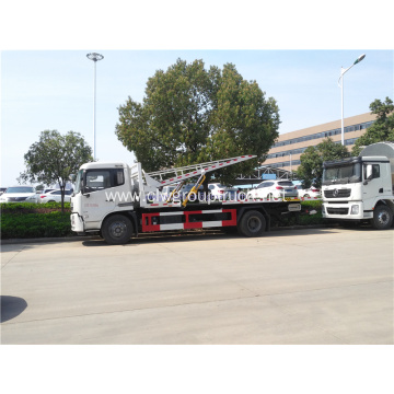 New model dongfeng 4x2 wrecker towing truck equipment