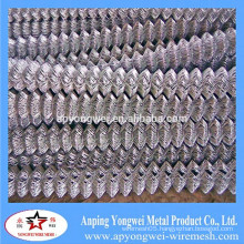 YW-anping Hot Dipped Galvanized Temporary Construction Chain Link Fence