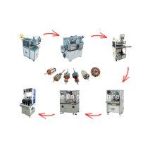 Máquina de bobinado de armadura automática Línea de producción de motor eléctrico de rotor