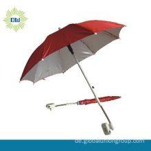 Werbe-China billig regenschirm rot