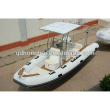 caliente el barco de la costilla de venta lujo HH-RIB580 con CE