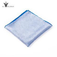En gros 100% Polyester Différentes Série Couleurs Motif Poche Carré