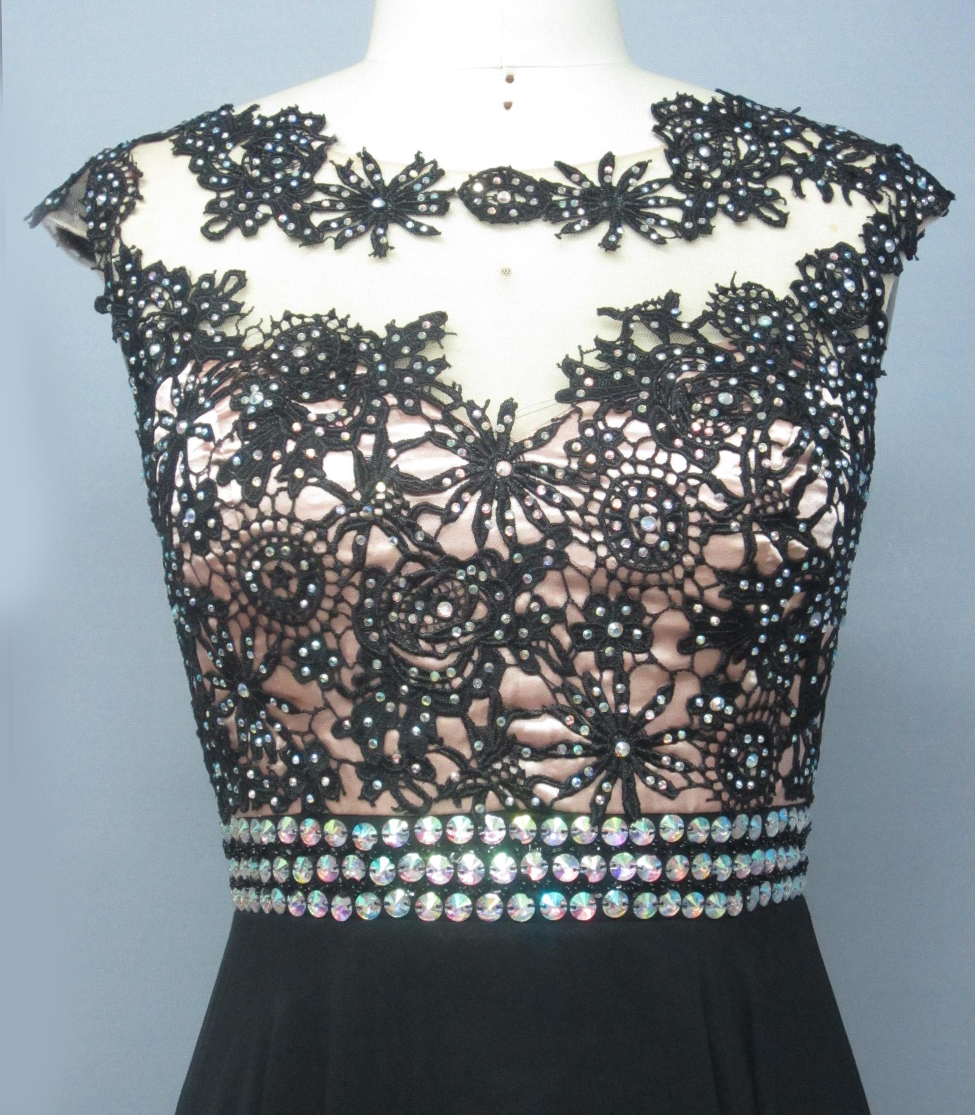 Girl Wedding Dress BLACK