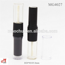 Dual/double end lipstick lipgloss tube/container