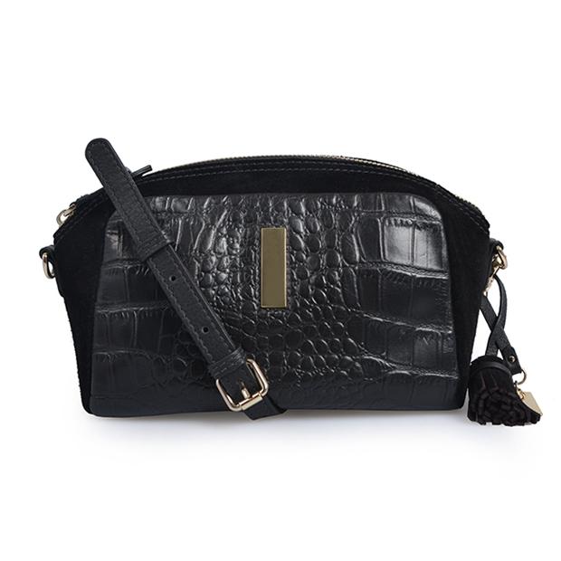 Shoulder bag mini handbag adjustable messenger crocodile bag
