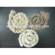 fábrica al por mayor 100% puro cashmere tops blanco / gris claro / marrón