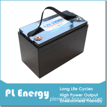 12V 100ah Long Life Span Eco-Friendly Rechargeable Lithium Battery