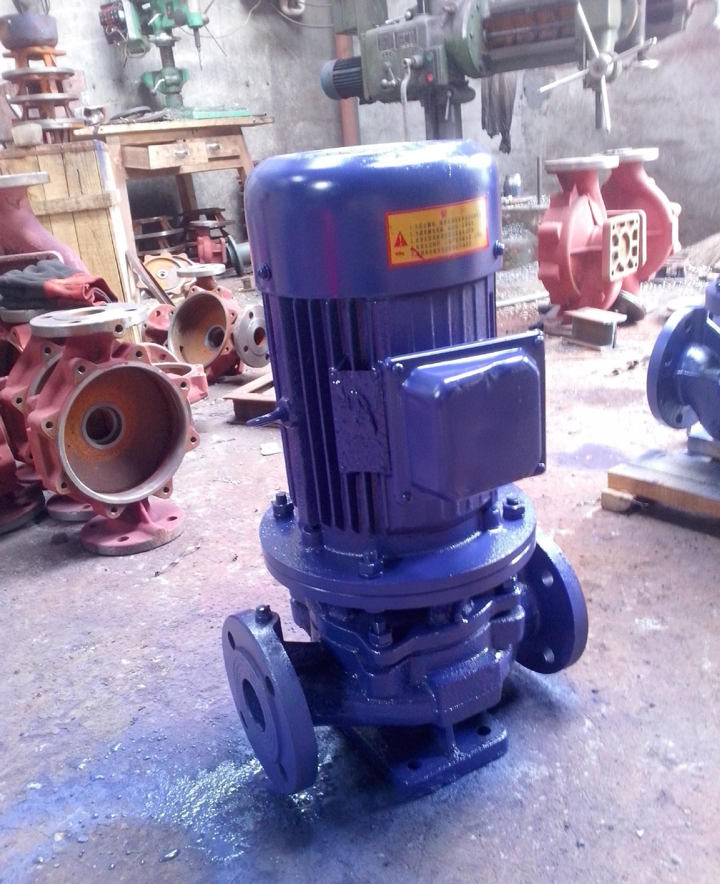 ISG type explosion-proof vertical pipeline pump 4