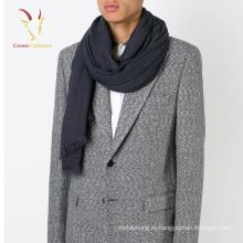 Мужская мода шерстяной шарф настроить с кисточкой 2017