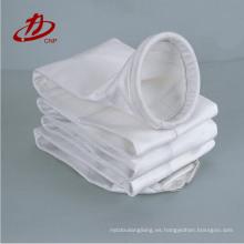 Bolsa de filtro de polvo de alta calidad con anillo de presión superior para airbag de pulso