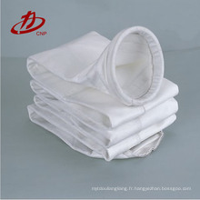 Sac de filtre de collection de poussière de l'industrie de ciment de tissu de nomex de coût bas