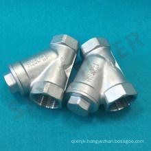 NPT Female Thread Y Type Brass Filter Y Filter (DN250 DN300 DN350)