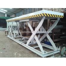 Plataforma de elevación hidráulica de tijera de la máquina de madera para la madera contrachapada con CE de foshan