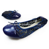 Women's Ballet Shoes, Available in Various Upper Designs, Customized Designs Accepted