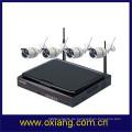 4 Kanal IP Kamera NVR WiFi Kit WiFi Kamera Full HD Bildschirm NVR