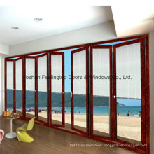 Best Quality Aluminum Interior Folding Door with 1.6mm Thickness (FT-D75)