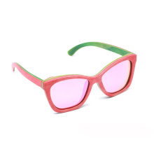 Fabricantes de marca FQ que vendem madeira de skate de cor crianças óculos de sol