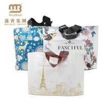 sacos bonitos do presente sling sacos de pano tecidos