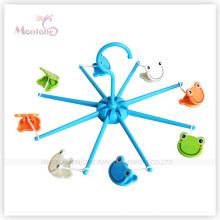 Durchmesser 16cm faltbarer Plastikkleiderbügel mit Frosch-geformtem Aufhänger