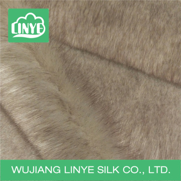 high quality long plush fur fabric / home upholstery fabric / baby blanket fabric