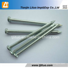 Electric Galvanized Concrete Steel Nails with Fluted Shank