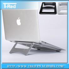 soporte de soporte antideslizante de aluminio metal para tablet pc y macbook