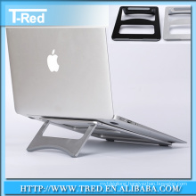 metal aluminum anti-slip stand holder for tablet pc and macbook