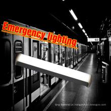 O backup da emergência 3hours ip65 a ligação sem emenda inquebrável 50w 5ft conduziu a luz linear da tri-prova