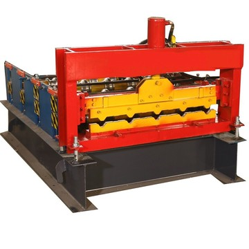 เครื่อง Crimping Curving Roll Forming Machine