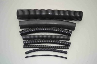 Single wall corrugated pipe