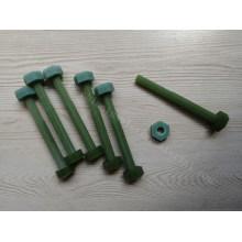 FRP Structural Fiberglass Rod, Threaded Rod, Nuts, Fastener Insulation Nuts