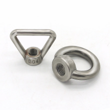 stainless steel ball joint stud eye bolt and nut