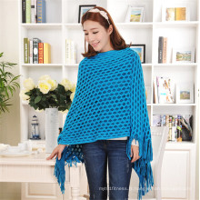 Sweat Tasseled de haute qualité 100% Acrylique à vide Sac à main en tricot tricoté