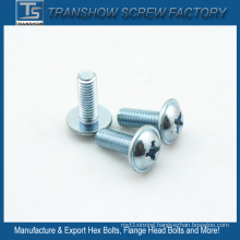 M6*20 Zinc Galvanized DIN967 Machine Screws