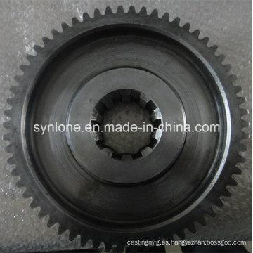 Engranaje de anillo industrial de acero al carbono OEM