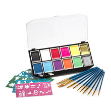 Halloween Party Fancy Dress Kit de pintura facial