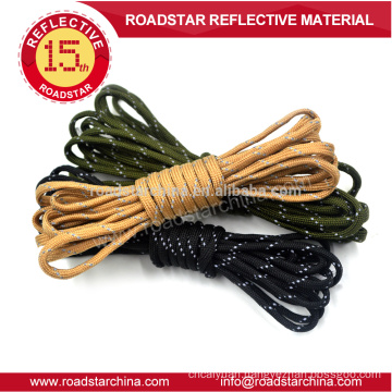 China manufacturer colorful reflective lanyard