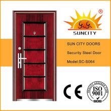 Puerta metálica de seguridad de acero de calidad