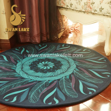 Non-slip Polyester Carpet Rug For Bed Sitting Room