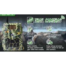 4G LTE Night Vision Cloud System 4G Wild GPS Hunting Scouting Trail Camera