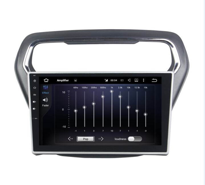 GPS navigation system Android 7.1 Car DVD For Ford ESCORT